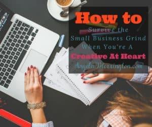creative small biz grind