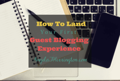 guest blogging experience